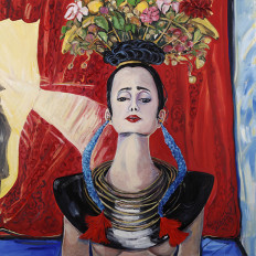 Gift of Love (Homage to Frida Kahlo)