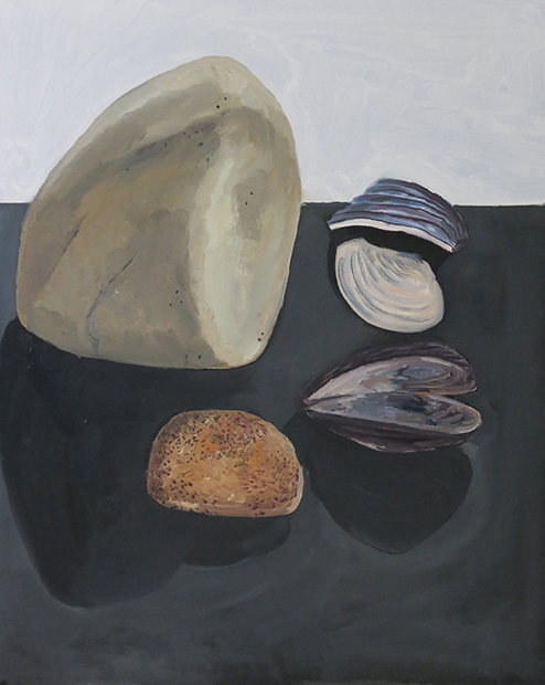 Rock and Mussels