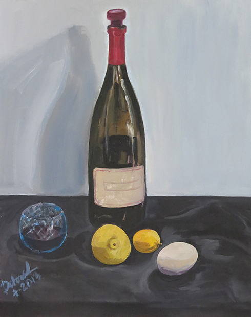 Wine and Lemons