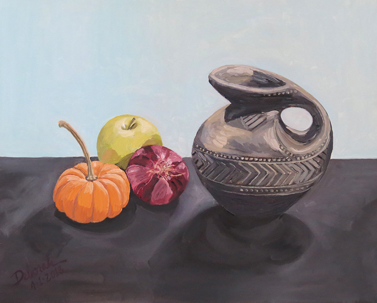 Still Life with Spanish Pitcher