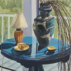 Sur la Table Matisse Bleu