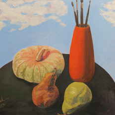 Still-Life-with-Squash-and-Pears-232