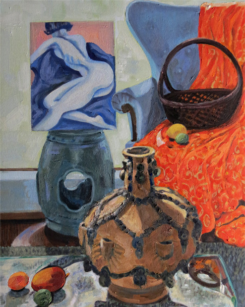 Still Life with Willie Chang Jug